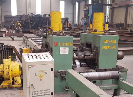 h型钢60b重钢液压矫正机