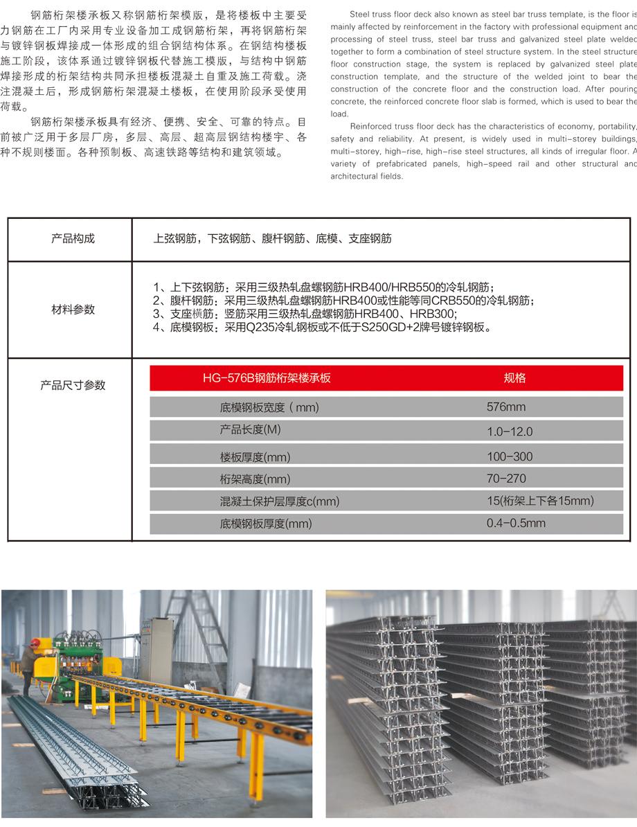 恒达产品-楼承板系列